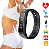 Product review for Heart Rate Monitor Watch,Fitness Tracker Wristband Waterproof Camera Control