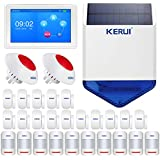 KERUI K7 Wireless WIFI GSM Security Smart Home Alarm System Kit - Full Touch Screen Color Display DIY Auto Dial Free APP IOS/Android Remote Control