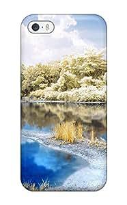 MacMillanWallacee Iphone 5/5s Hybrid Tpu Case Cover Silicon Bumper Scenic