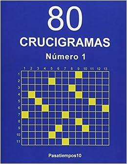 80 Crucigramas - N. 1  Volume 1  Amazon.es  Pasatiempos10  Libros a47f69e5c0b
