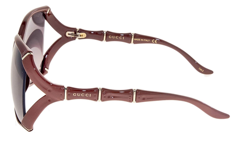 e681ab685e GUCCI Bamboo GG0505S Red Brick Gold Sunglasses 3508  Amazon.co.uk  Clothing