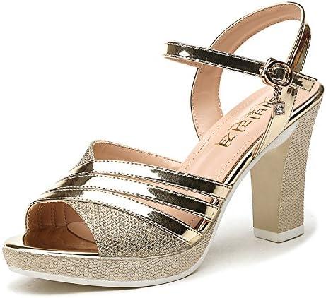 RUGAI-UE Heels ladies sandals high heels summer heels and high heels.