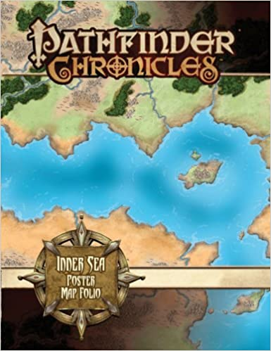 Pathfinder Campaign Setting Inner Sea Poster Map Folio Rob