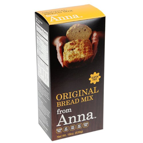 Breads from Anna, Gluten Free Bread Mix, Soy Rice and Nut Free, 19oz by Breads From Anna