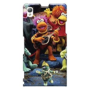 LisaSwinburnson Sony Xperia Z1 High Quality Hard Cell-phone Cases Allow Personal Design HD Fraggle Rock Skin [Dgn10702gdmX]