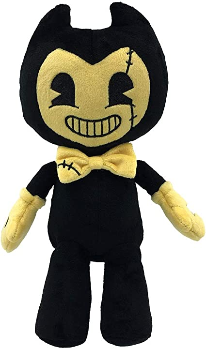Bendy /& The Ink Machine Bendy 9 Inch Plush Yellow Dark Revival Doll Figure Toy