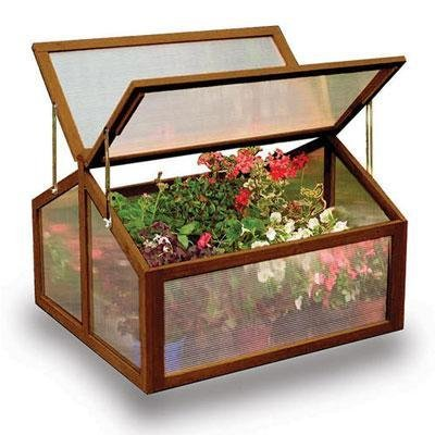 Gardman USA - Large Wooden Cold Frame