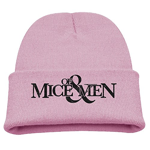 SHEAKA OF MICE & MEN Baby's Knitted MountaineeringCaps Pink For Autumn And Winter
