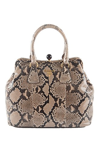 Prada-XL-Genuine-Python-Skin-Doctor-Tote-Hand-Bag-Extremely-Limited-Edition