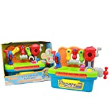 Boley Learning Workbench toy for kids - Educational toys for toddlers that have bright colored buttons and learning tool shapes - a perfect toy for the boys and girls!