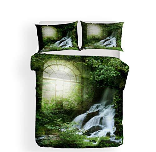 [해외]Mrsrui 2 Piece Bed Sheet Set Twin Size Quilted Coverlet1 Pillow Shams - Super Soft Warm Breathable Cooling / Mrsrui 2 Piece Bed Sheet Set Twin Size, Quilted Coverlet1 Pillow Shams - Super Soft, Warm, Breathable, Cooling