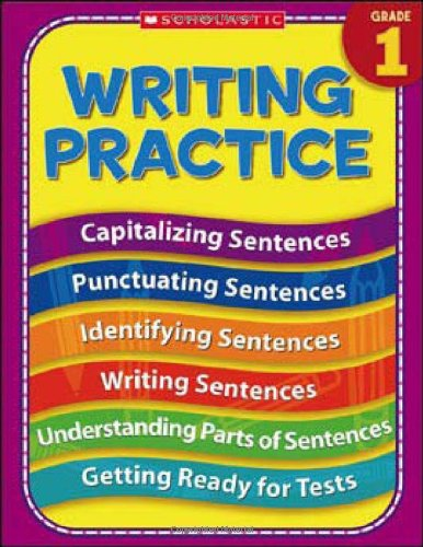 Amazon.com: 1st Grade Writing Practice (Practice (Scholastic ...