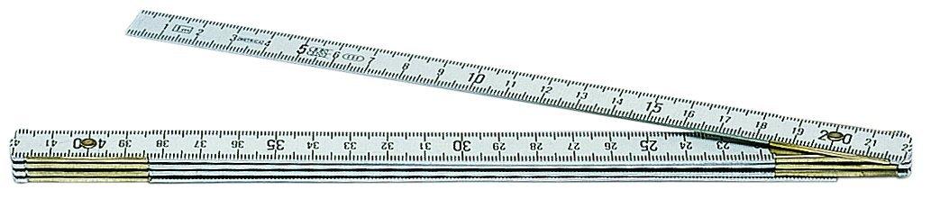 Metrica 20110 Mètre à ruban 1 m mm/mm
