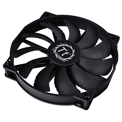 Thermaltake Pure Series Case Cooling Fan CL-F015-PL20BL-A, Black