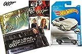 Spectre James Bond Hot Wheels + 007 Archives 2012 & Goldeneye Trading Cards with Films 1-10 Cartamundi James Bond Movie Playing Cards