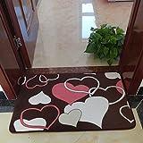 Modern bathroom kitchen mat/Toilet door mat/ bedroom Bay window bed pad-B 40x60cm(16x24inch)