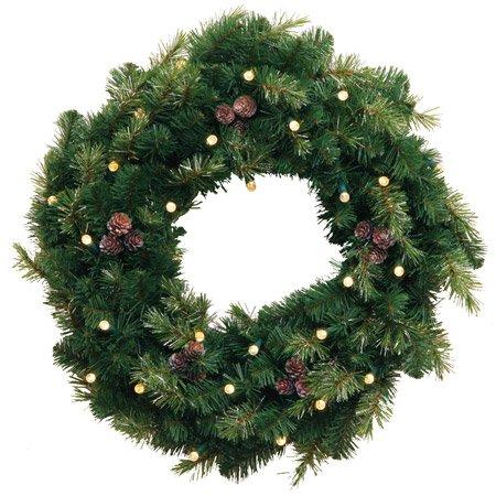 クリスマスツリー LEDリース B005VZZT6Y 11880