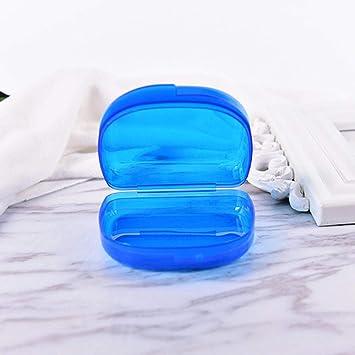 Caja de la bandeja dental Retenedor de ortodoncia Caja de almacenamiento de prótesis parcial de plástico Herramientas dentales Cuidado de los dientes Estuche de almacenamiento: Amazon.es: Salud y cuidado personal