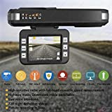 Smart Tech RADAR DETECTOR, 2018 NEW CAR SPEED TRAP DETECTOR, WITH HD DVR DASH CAM, 2 in 1 HD DASH CAM