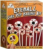Brand Castle Halloween Eyeball Cake Pop Baking Kit Orange