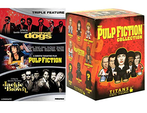 (Vincent Butch Mia Pulp Fiction Quentin Tarantino Set Reservoir Dogs / Jackie Brown / Pulp Fiction Film Collection + Blind Box Collectible Character Figure)