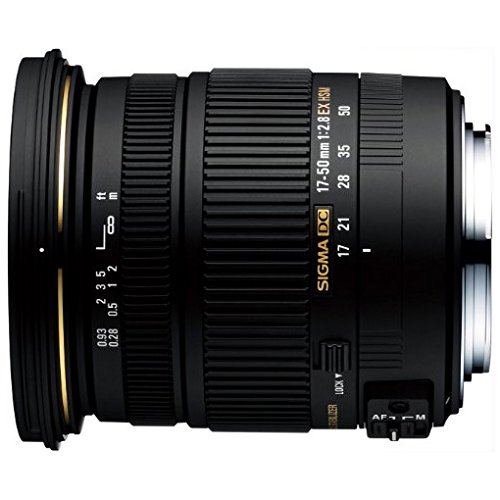 Sigma 17-50mm F2.8 Ex Dc Os Hsm Fld Large Aperture Standard Zoom Lens For Pentax Digital Dslr Camera
