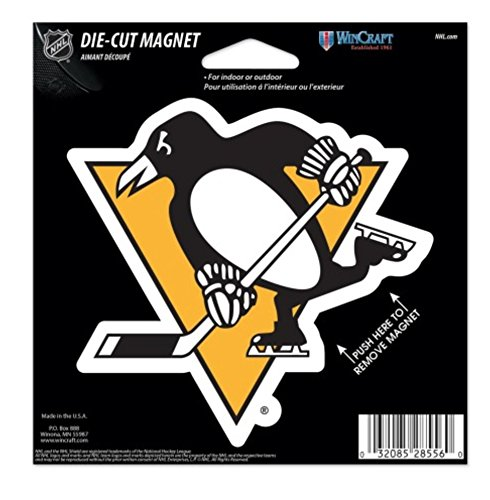 NHL Pittsburgh Penguins 4.5 x 6 inch Die Cut - Pittsburgh Penguins Magnets