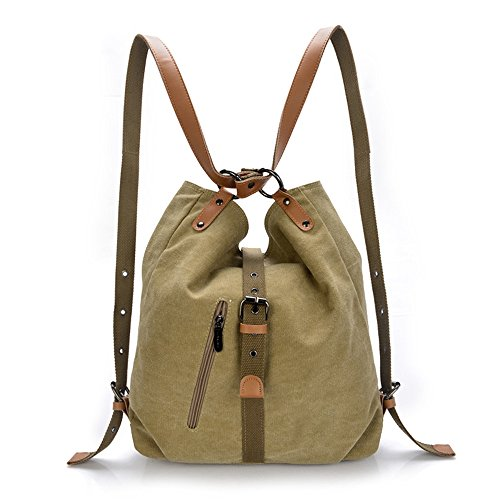 【MOHOLL】 Shoulder Bags for Women Large Ladies Crossbody Bag with Tassel Khaki
