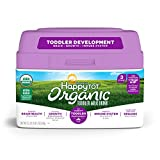 Happy Tot Organic Toddler Milk, 23.2 Ounce Organic Formula Toddler Milk Drink, Milk Based Powder, DHA & ARA to Support Brain Health, Non-GMO Gluten Free, No Corn Syrup Solids