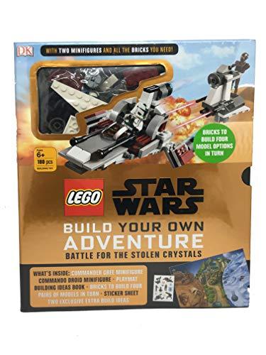 LEGO Star Wars Battle for The Stolen Crystals Crea tu propia aventura (2 minifiguras y juego de ladrillos) 180 piezas