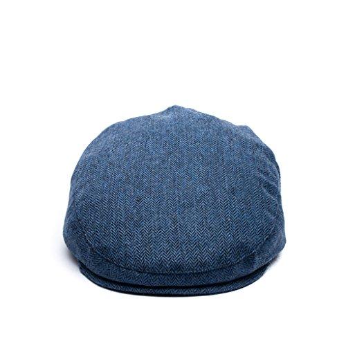 88855d41d3d Amazon.com  Born to Love Flat Scally Cap - Boy s Tweed Page Boy Newsboy  Baby Kids Driver Cap Hat  Clothing