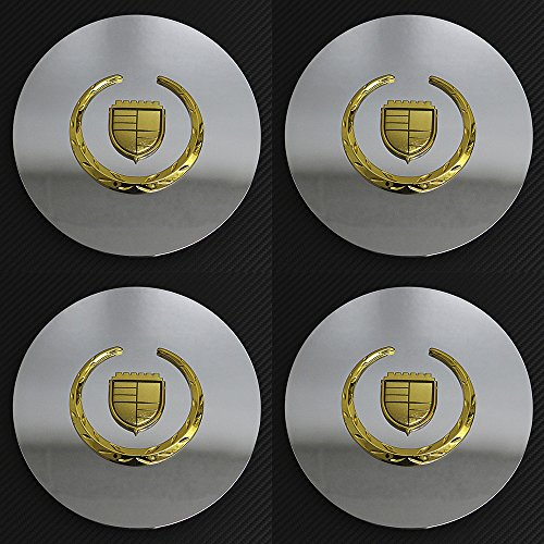 OxGord CC-C4553-KG Signature Gold Center Caps Set of 4