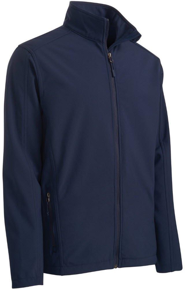 Joe's USA tm Mens Tall Core Soft Shell Jacket-Navy-3XLT
