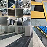 Neoprene Rubber Sheet Roll 1/16 (.062) Inch Thick x 12 Inch Wide x 48 Inch Long for DIY Gaskets, Pads, Seals, Crafts, Flooring,Cushioning of Anti-Vibration, Anti-Slip