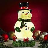 Glow Anywhere LED Snowman Statue