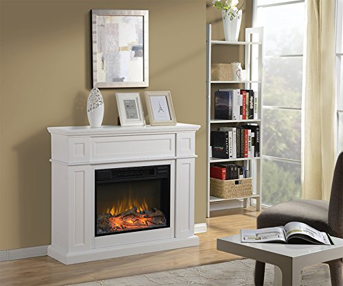 HOMESTAR ZCUMBRIA Wide Electric Fireplace Mantel, 41