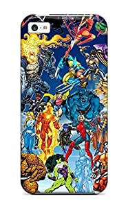 9715646K58209518 Awesome Case Cover/iphone 5c Defender Case Cover(marvel)