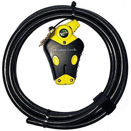 Master Lock - (1) Python Adjustable Cable Lock, - 12' Golf