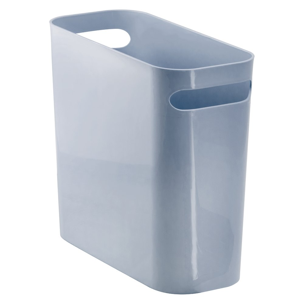 InterDesign Una Wastebasket Trash Can 10