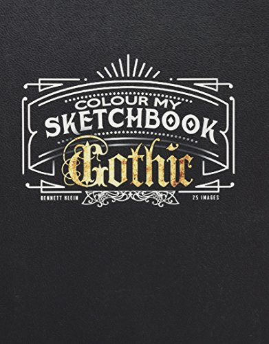 Colour My Sketchbook Gothic -