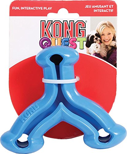 UPC 035585277080, KONG Quest Wishbone Treat Dispensing Dog Toy, Small, Colors Vary
