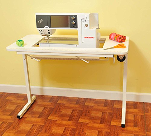 Arrow Sewing Cabinet Gidget2 Sewing Table - White by Z3X4C6