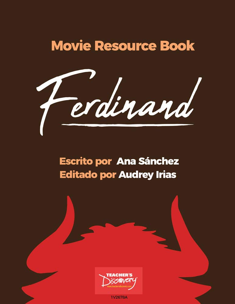Amazon.com : Ferdinand Movie Resource Book : Office Products