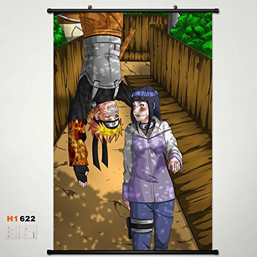 Home Decor Anime Naruto Hinata Hyuga Wall Scroll Poster Fabric Painting 23.6*35.4 622