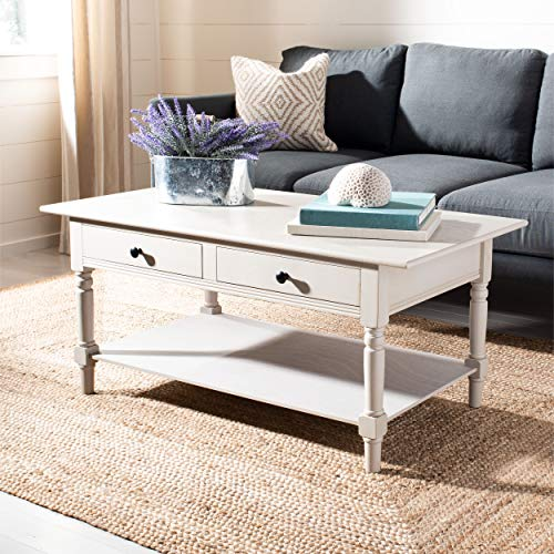 Safavieh American Homes Collection Boris Vintage Grey Coffee Table