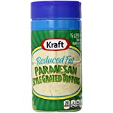 Kraft Cheese Grated Parmesan, Reduced Fat, 8 Ounce