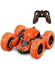HELIFAR Ferngesteuertes Auto Kinder RC Auto 4WD 12 km/h 1:28 RC Car mit 360 Stunt 2.4Ghz Ferngesteuertes Elektrik Autos Spielzeug für Jungen Mädchen
