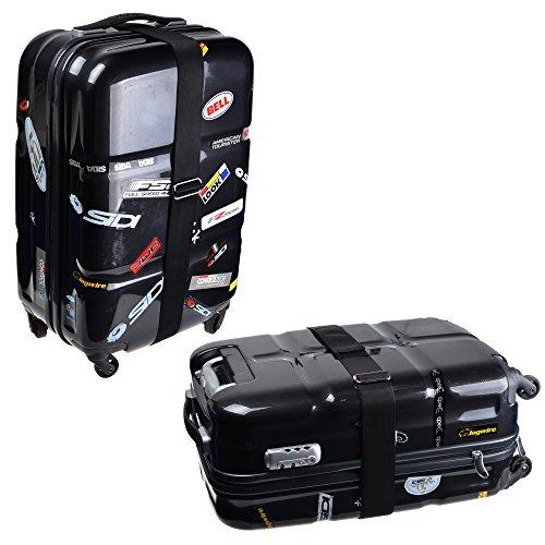 KLOUD City Non slip Adjustable Suitcase