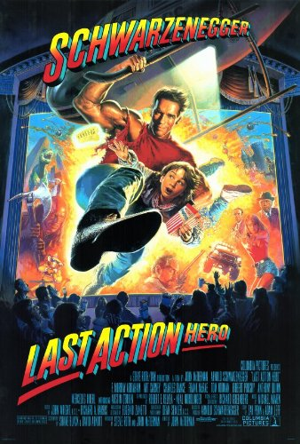 Last Action Hero 27 x 40 Movie Poster - Style A