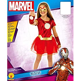 - 51dCsT3m6XL - Rubie's Marvel Classic Child's Rescue Costume
